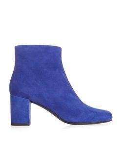 Saint Laurent | Babies Block-Heel Suede Ankle Boots