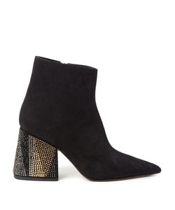 Marni | Point-Toe Suede Ankle Boots
