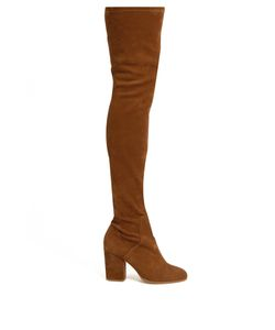 Alexa Wagner | Domino Suede Over-The-Knee Boots