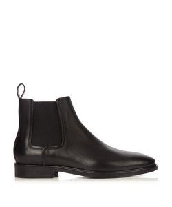 Lanvin | Dual-Leather Chelsea Boots