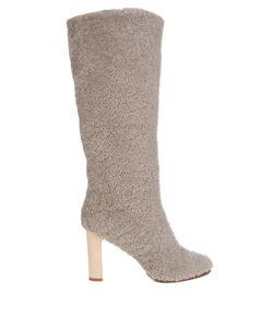 ÁLVARO | Shearling Block-Heel Boots