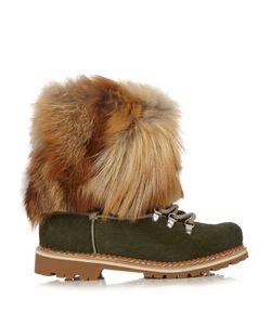 MONTELLIANA | 600 Fur-Trimmed Calf-Hair Après-Ski Boots