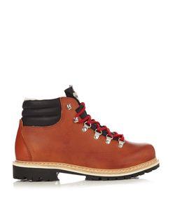 MONTELLIANA | Margherita Leather Après-Ski Boots