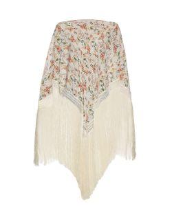 Athena Procopiou   Wind Winged Dove Silk Kaftan