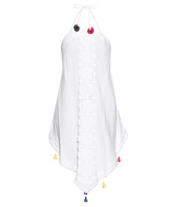 VMT | Careyes Melon Embellished Cotton Dress