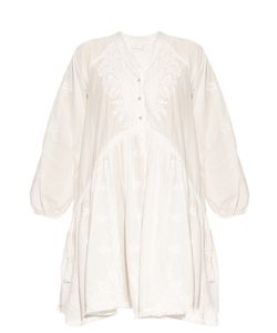 Zimmermann | Lotte Embroidered Cotton Dress
