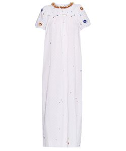 Thierry Colson | Olympia Garden-Embroidered Cotton Dress