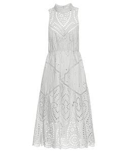 Zimmermann | Epoque Broderie-Anglaise High-Neck Dress