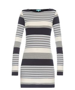 Melissa Odabash | Maddie Stripe-Knit Mini Dress