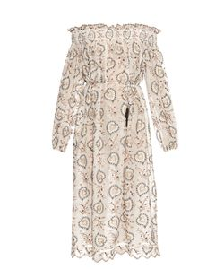 Zimmermann | Pavilion Off-The-Shoulder Smock Dress