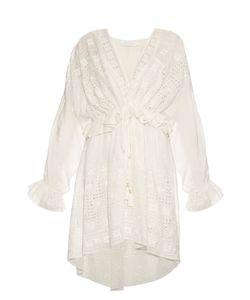 Zimmermann | Harlequin Cotton And Silk-Blend Dress