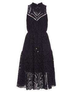 Zimmermann | Harlequin Broderie-Anglaise Cotton Midi Dress