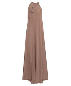 KALITA | Camille Silk-Crepe Maxi Dress