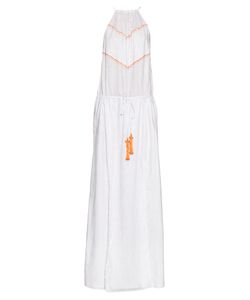 BIONDI | Boheme Embroidered Halterneck Dress