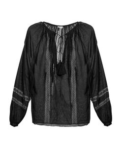 TALITHA | French Lace Tassel Top