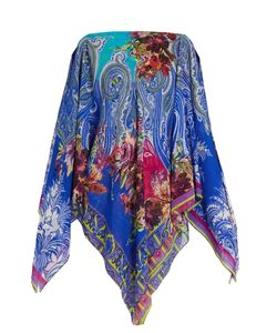 Etro | And Paisley-Print Silk-Crepe Cover-Up