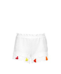 VMT | Careyes Darius Crochet-Trimmed Shorts