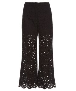 Zimmermann | Pavilion Broderie-Anglaise Cropped Trousers