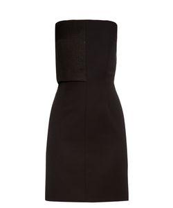 Lamania | Valentina Strapless Wool Dress