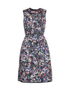 Erdem | Ivana Perforated-Neoprene Dress