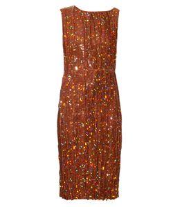 Nina Ricci | Sequin-Embellished Pleated Dress