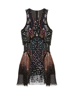 Mary Katrantzou | Juno Embellished Silk-Georgette Dress
