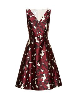 Oscar de la Renta | -Print Silk-Twill Dress