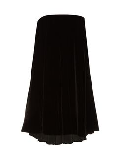 Lamania | Baubo Strapless Velvet Dress
