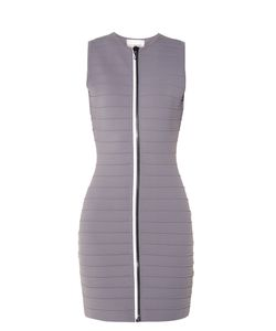 Christopher Kane | Zip-Through Bandage Mini Dress