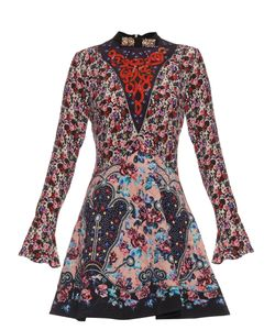 Mary Katrantzou | Holbert Cosmo Print A-Line Dress