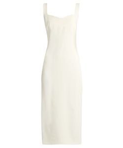 OSMAN | Angeline Crepe Dress