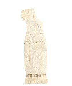 TABULA RASA | Tuva Hand-Macramé Silk And Wool-Blend Dress