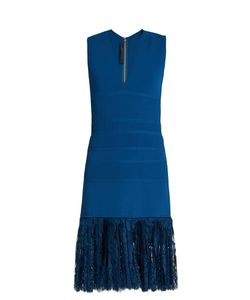 Elie Saab | Lace-Hem Sleeveless Dress