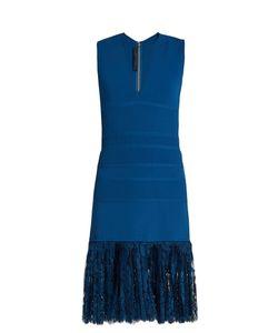 Elie Saab | Lace-Hem Sleeveless Dress