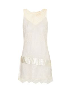 LOYD/FORD   Satin-Waistband Lace Dress