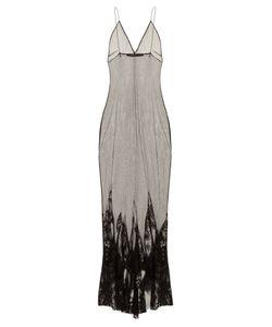 Haider Ackermann | Taranis Mesh Overlay Cocktail Dress