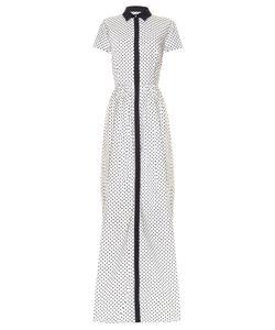 Oscar de la Renta | Daisy Polka-Dot Print Gown
