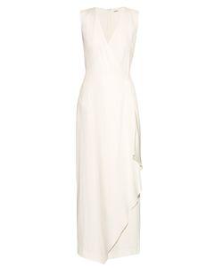 Adam Lippes | Sleeveless V-Neck Crepe Dress