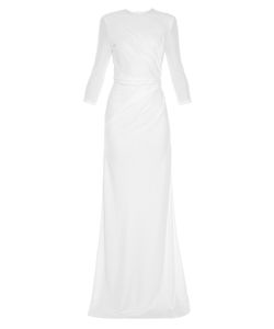 Givenchy | Ruched-Side Crepe-Jersey Gown