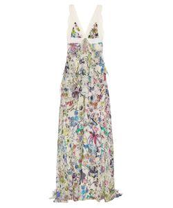 Roberto Cavalli | Astro Garden-Print Silk-Georgette Gown