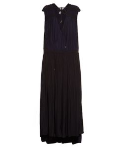 Lanvin | Gathered Washed-Satin Gown