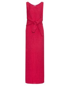 Nina Ricci | Tie-Waist Silk-Blend Cloqué Gown