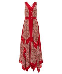 Altuzarra | Clemmie Silk-Habotai Paisley-Print Dress