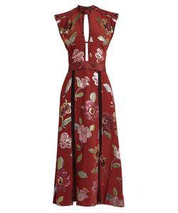 Burberry Prorsum | Fil Coupé Silk Crepe De Chine Gown