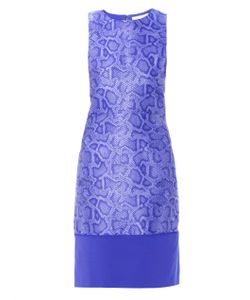 Richard Nicoll | Snake-Effect Jacquard Sleeveless Dress