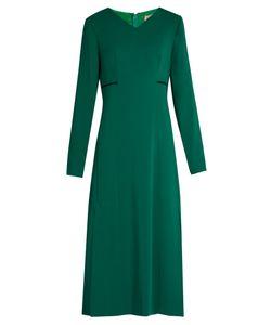 Lanvin | V-Neck Long-Sleeved Cady Gown