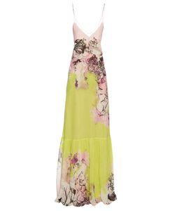 Roberto Cavalli | Kimono Print V-Neck Silk-Georgette Gown