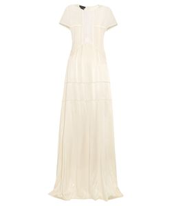 Burberry Prorsum | Short-Sleeved Guipure-Lace And Silk Dress