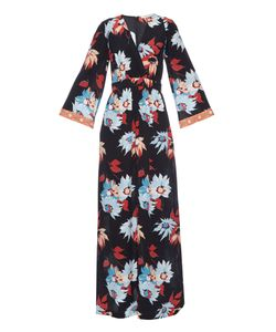 Etro | -Print Silk-Crepe Maxi Dress