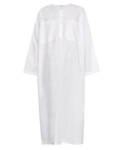 Adam Lippes | Round-Neck Cotton And Linen-Blend Dress